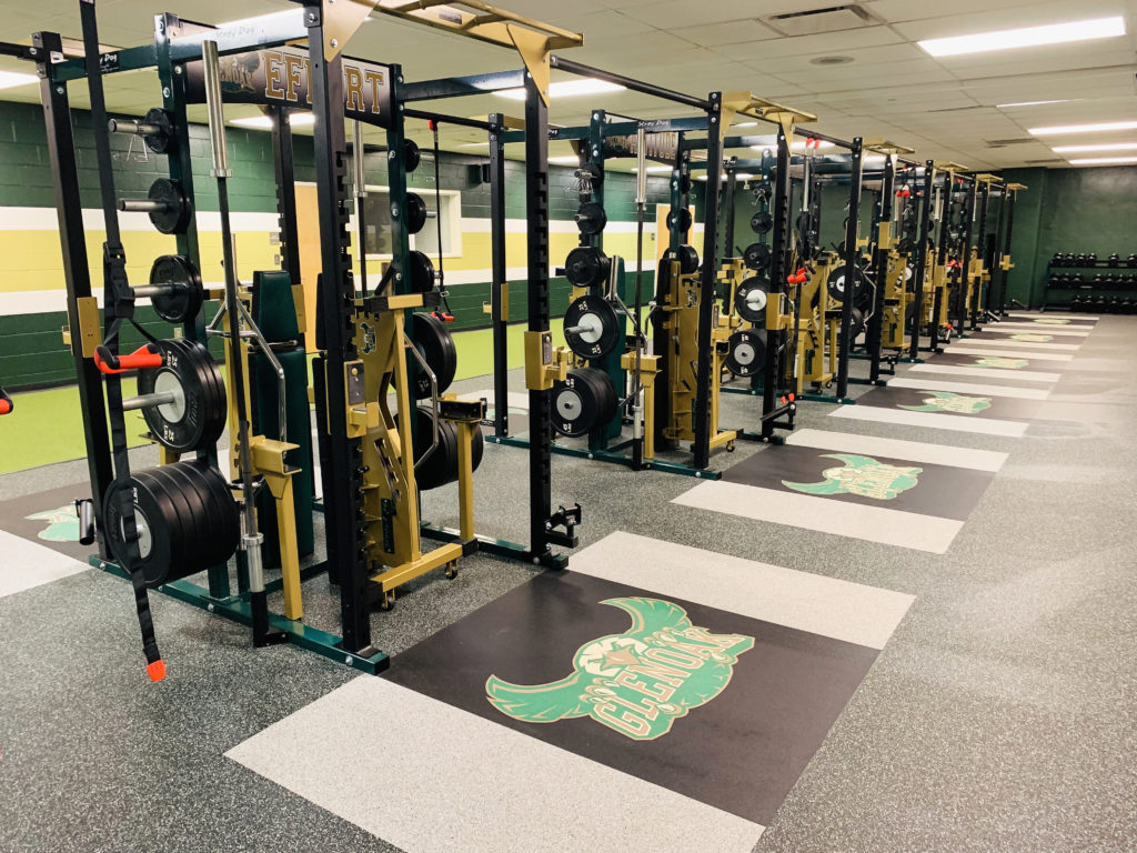 Canton Glenoak Weight room-2