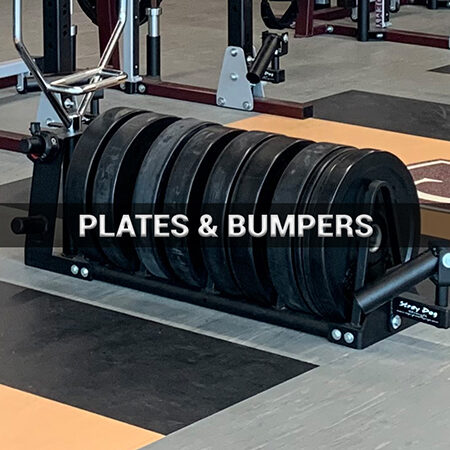 PLATES AND BUMPERS BUTTON-450